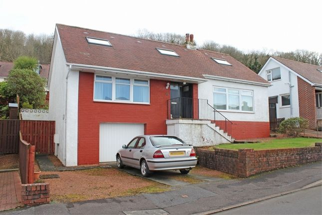 Thumbnail Detached house for sale in Scott Drive, Largs, North Ayrshire
