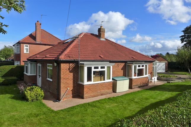 Thumbnail Detached bungalow for sale in Whitcliffe Crescent, Ripon