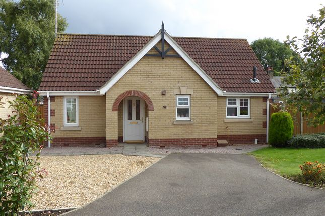 Thumbnail Detached bungalow for sale in Willowherb Close, March