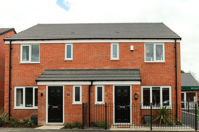 "3 bedroom terraced house for sale in ""The Hanbury"" at Ward Road, Clipstone Village, Mansfield"