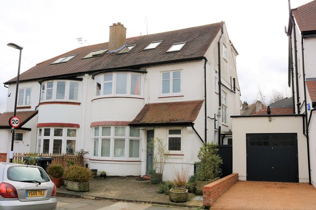 Thumbnail Semi-detached house for sale in Grosvenor Road, Muswell Hill