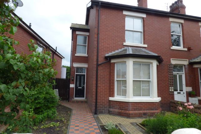 Thumbnail End terrace house for sale in Victoria Street, Lytham