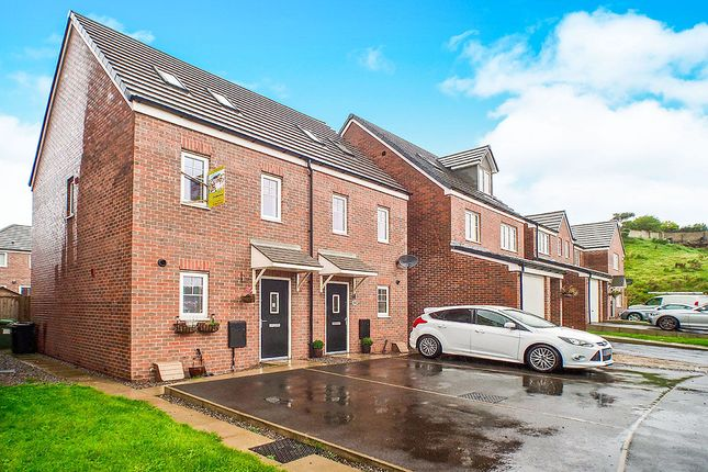 Thumbnail Semi-detached house for sale in Bellaport Gardens, Harrington, Workington
