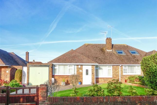 Thumbnail Semi-detached bungalow for sale in Goring Way, Goring By Sea, Worthing, West Sussex