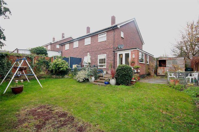 Thumbnail End terrace house for sale in Saffron Close, Hoddesdon, Hertfordshire
