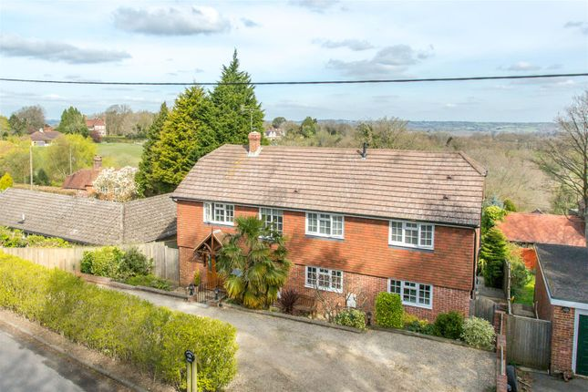 Thumbnail Detached house for sale in Vicarage Road, Burwash Common, Etchingham
