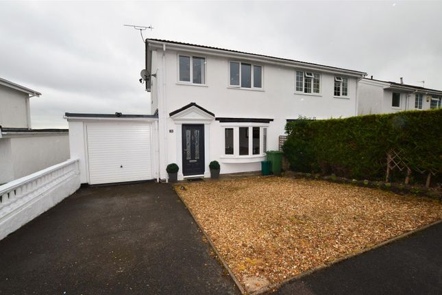 Thumbnail Semi-detached house for sale in Woodfield Road, Talbot Green, Pontyclun
