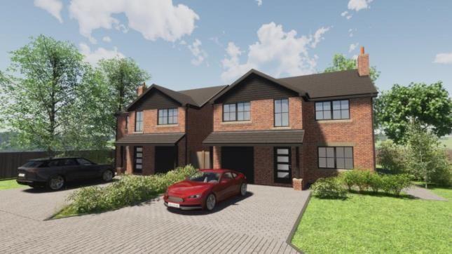 Thumbnail Detached house for sale in Earnshaw Manor, Hugh Lane, Leyland