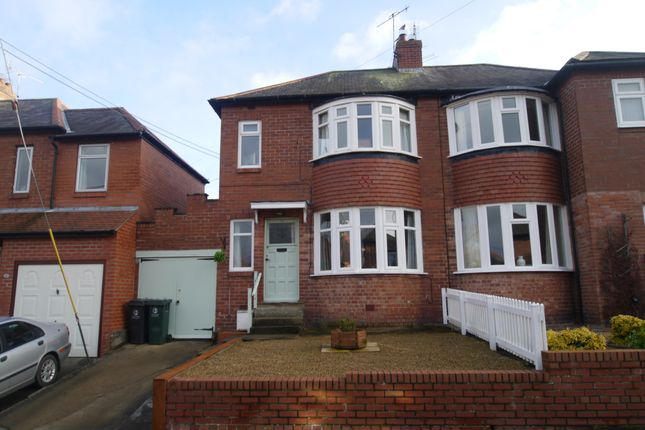 Thumbnail Semi-detached house for sale in Hextol Crescent, Hexham, Northumberland