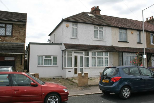Thumbnail End terrace house for sale in Wood End Green Road, Hayes
