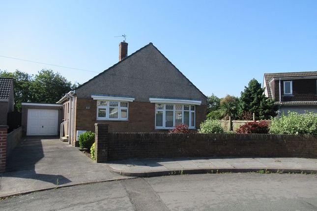 Thumbnail Bungalow to rent in Manor Drive, Coychurch, Bridgend, Bridgend County.