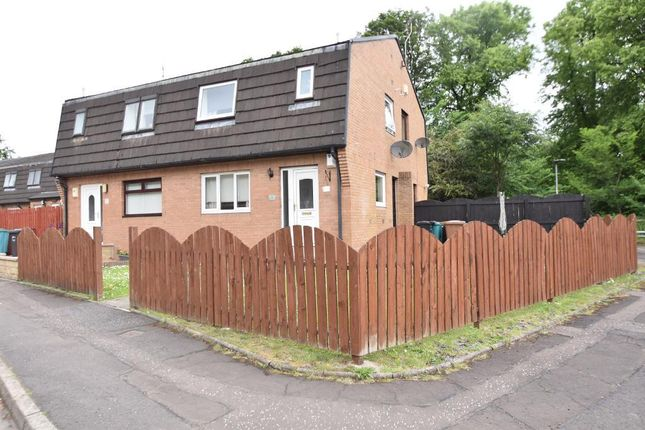 Thumbnail End terrace house for sale in Mahon Court, Moodiesburn, Glasgow