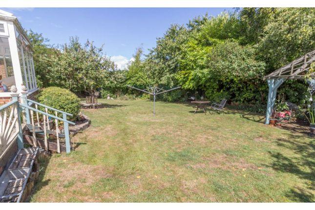 Rear Garden of Marina Crescent, Salisbury SP4