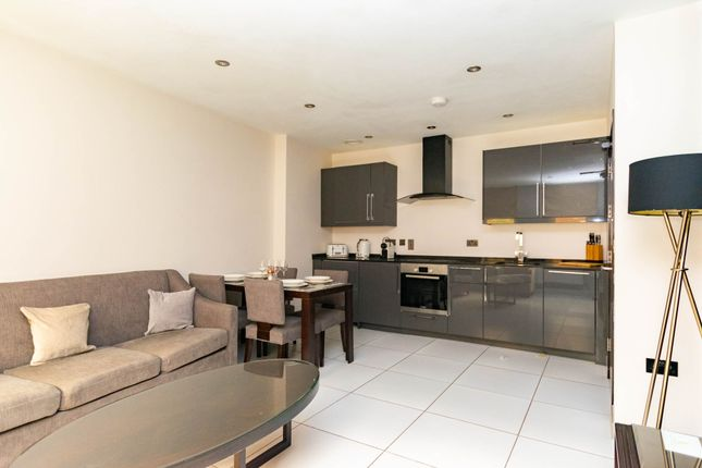 Open Plan Living of Apartment 507, 47, Park Square East, Leeds LS1