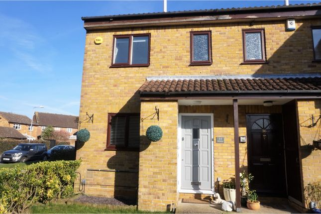 Thumbnail End terrace house for sale in Wellesley, Harlow