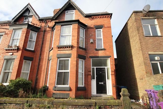 Thumbnail Flat to rent in 25 Rutland Avenue, Mossley Hill, Liverpool, Merseyside