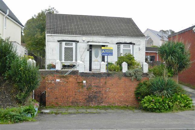 Thumbnail Detached bungalow for sale in Cwm Level Road, Plasmarl, Swansea