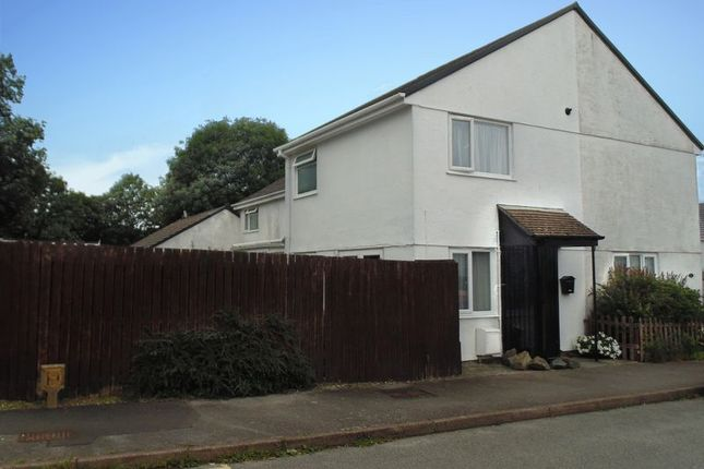 Thumbnail Terraced house for sale in Tamar Close, Callington