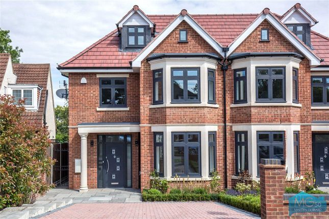 Thumbnail Semi-detached house for sale in Grimsdyke Crescent, Arkley, Hertfordshire