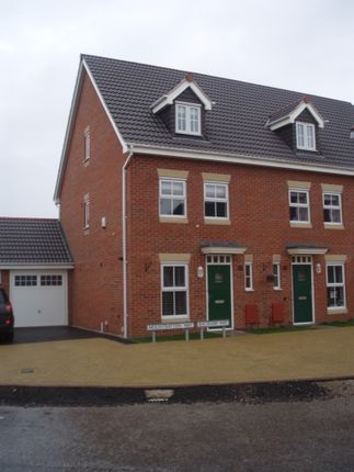 Thumbnail Mews house to rent in Balshaw Way, Beeston, Nottingham