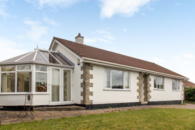 Thumbnail Detached bungalow for sale in Parkwoon Close, Roche, St. Austell