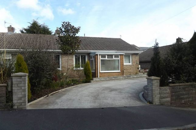 Thumbnail Semi-detached bungalow to rent in Pennant Road, Llanelli