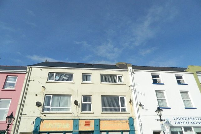 Terraced house for sale in Charles Street, Milford Haven, Pembrokeshire.