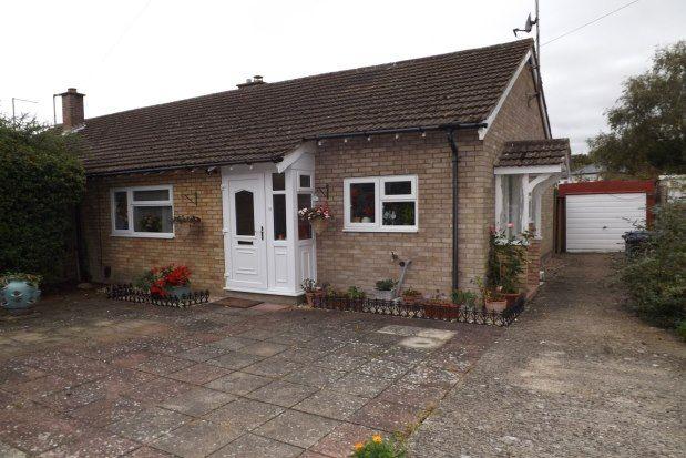 Thumbnail Bungalow to rent in Poplar Close, Cambridge