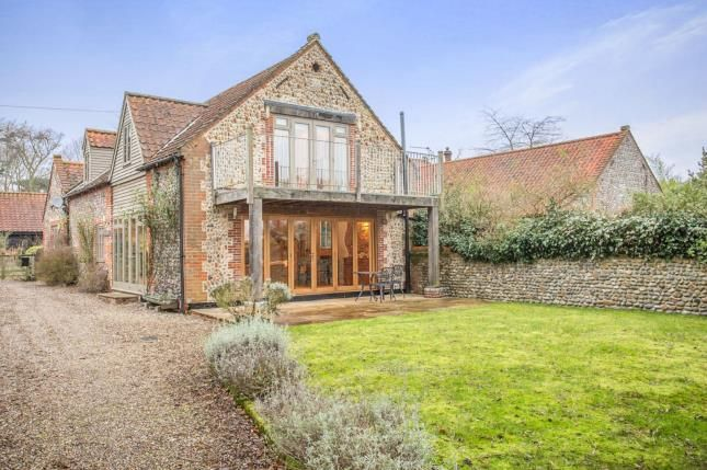 Thumbnail Barn conversion for sale in Trunch, North Walsham, Norfolk