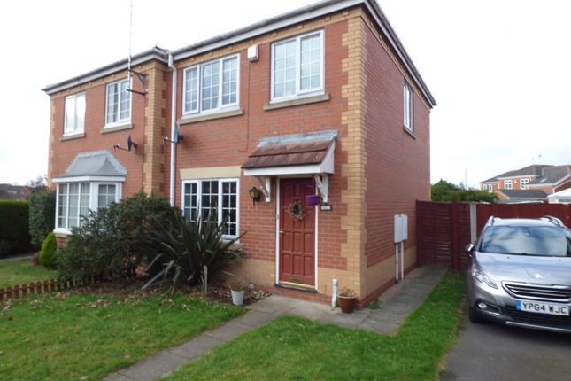 Thumbnail Semi-detached house to rent in Leafe Close, Chilwell, Nottingham