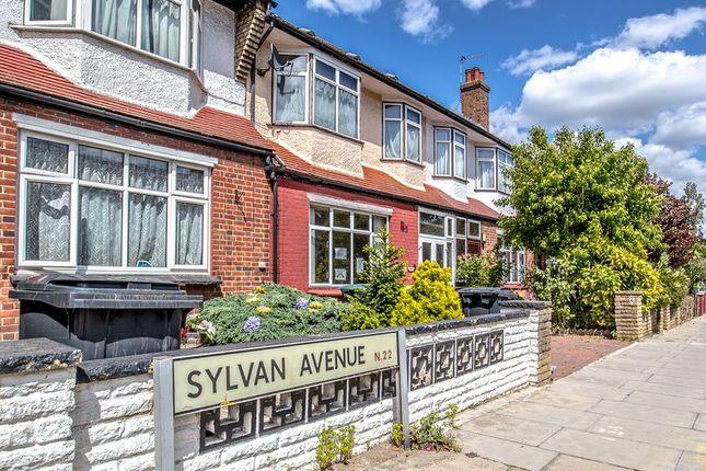 Thumbnail Terraced house for sale in Sylvan Avenue, London