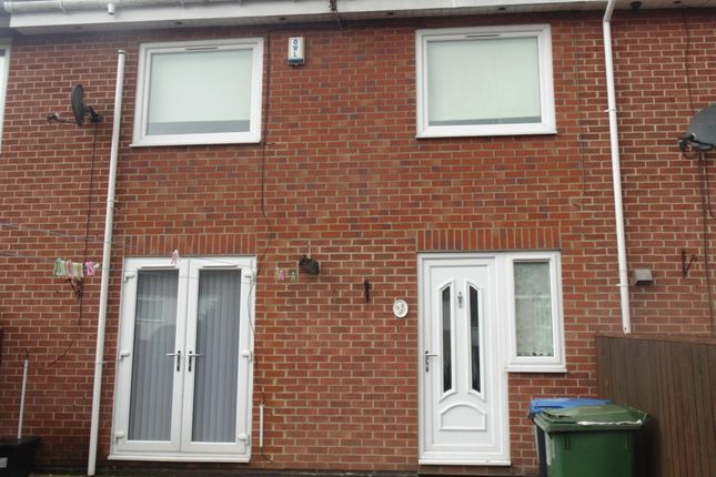 Thumbnail Terraced house to rent in Chester Place, Peterlee