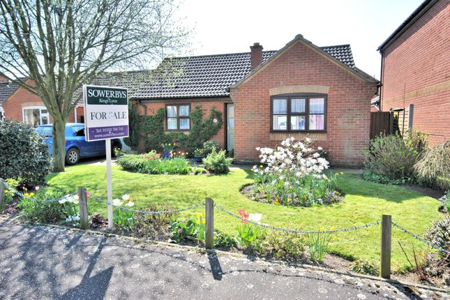 Thumbnail Detached bungalow for sale in Rowan Drive, Gayton, King's Lynn