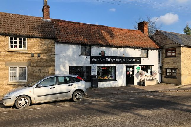 Retail premises for sale in Main Street, Greetham, Oakham