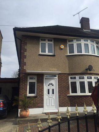 Thumbnail Terraced house to rent in Wanstead Park Road, London