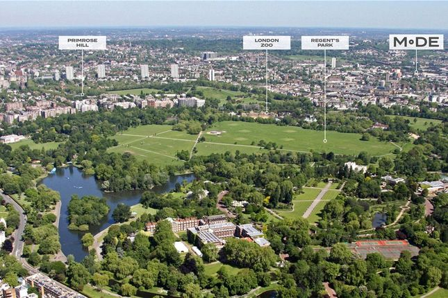 Ariel View of Mode, Centric Close, Oval Road, Camden NW1