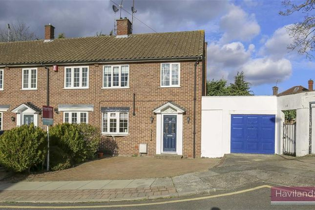 Thumbnail End terrace house for sale in Laurel Drive, Winchmore Hill, London