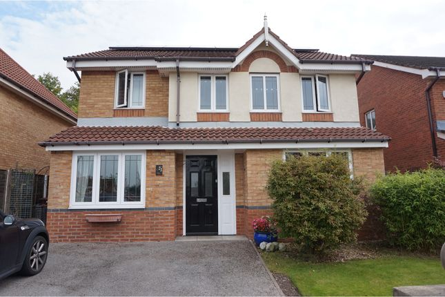 Thumbnail Detached house for sale in The Willows, Chorley