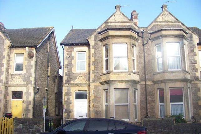 Thumbnail Flat to rent in Clifton Road, Weston-Super-Mare