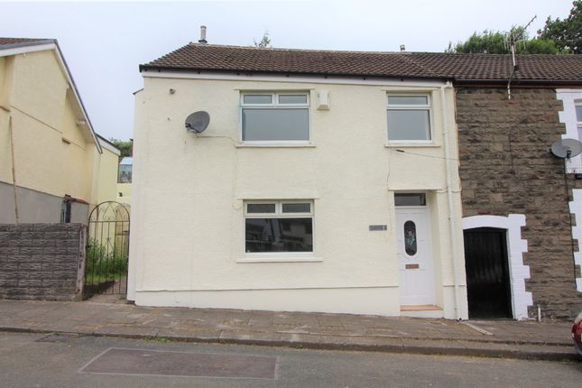 Thumbnail End terrace house to rent in Bwllfa Cottages, Gelli, Pentre