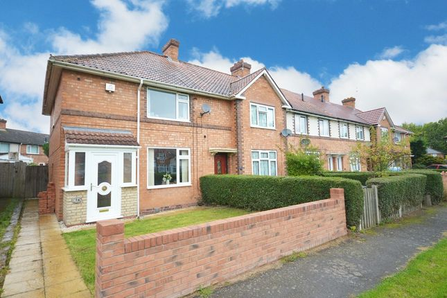 Thumbnail End terrace house for sale in Mapleton Road, Birmingham