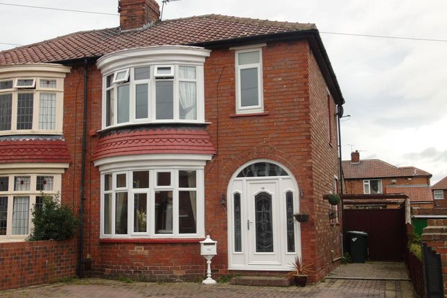 Thumbnail Semi-detached house for sale in Cottersloe Road, Norton, Stockton-On-Tees