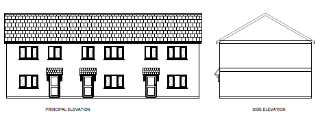 Thumbnail Terraced house for sale in Plot 3 Former Central Garage, Llannon Road, Upper Tumble