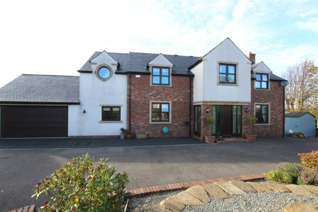 Thumbnail Detached house for sale in Mylen House, Vallum Place, Monkhill, Burgh-By-Sands, Carlisle, Cumbria
