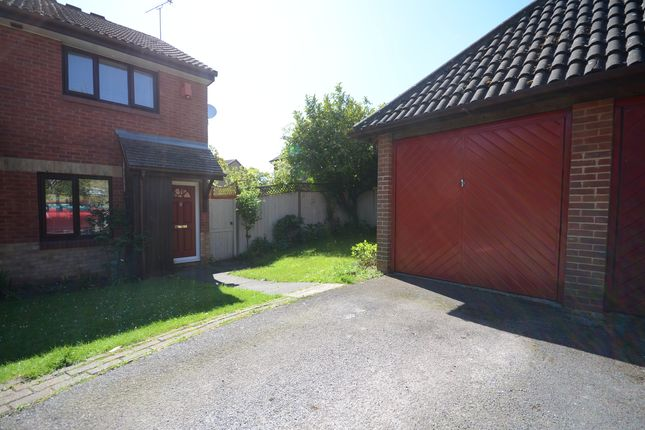 Thumbnail End terrace house to rent in Bolwell Close, Twyford, Reading