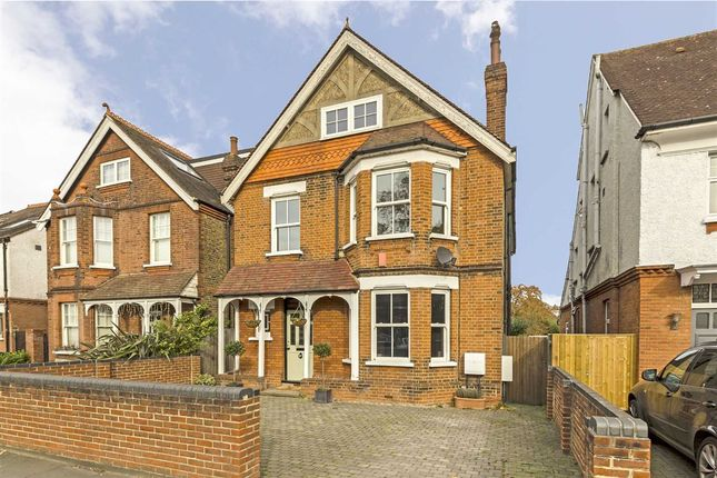 Thumbnail Detached house for sale in Ewell Road, Surbiton