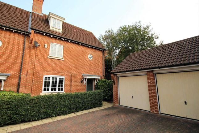 Thumbnail Semi-detached house for sale in Vaughan Williams Way, Warley, Brentwood
