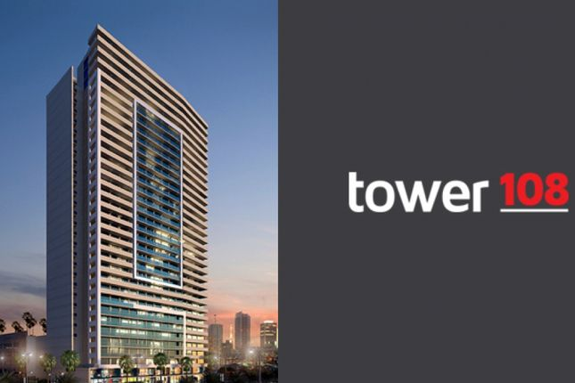 Thumbnail Apartment for sale in Jumeirah Village Circle, Tower 108, United Arab Emirates