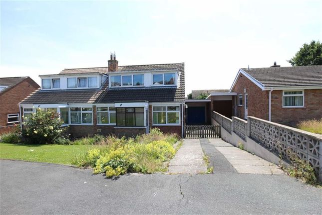 Thumbnail Semi-detached bungalow for sale in Rhoshendre, Waunfawr, Aberystwyth