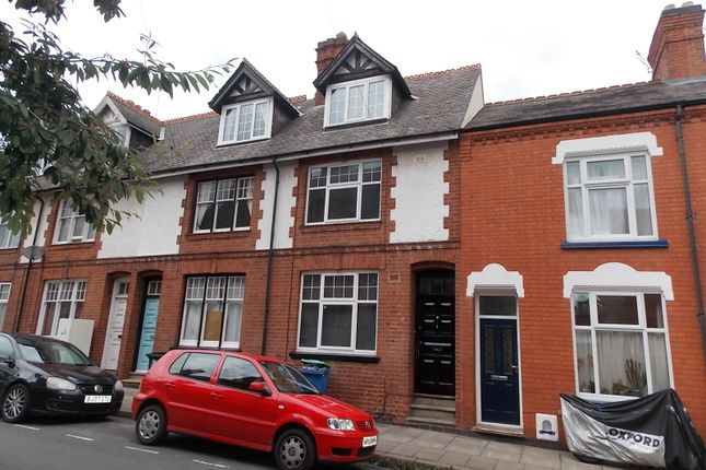Thumbnail Terraced house to rent in Tennyson Street, Leicester